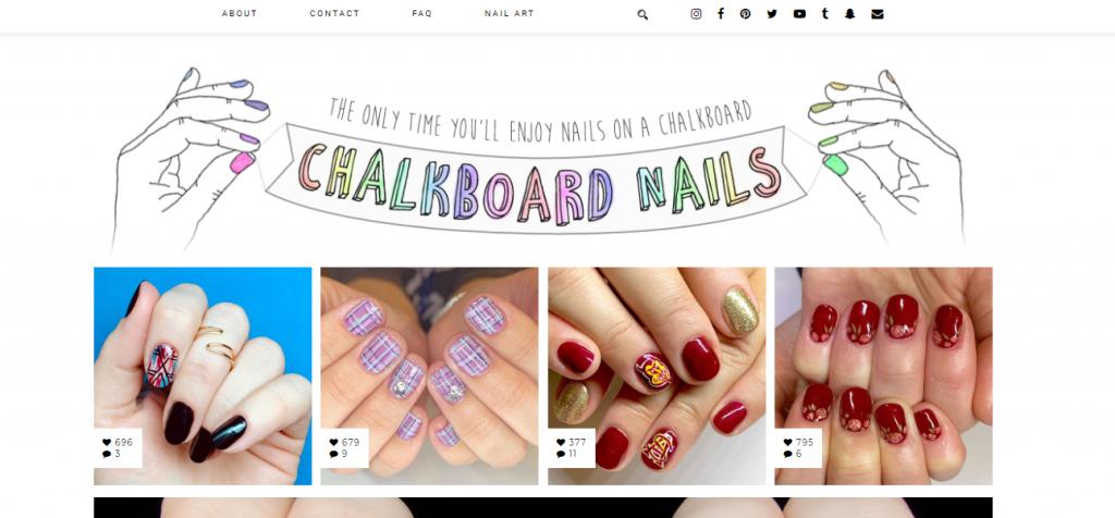 top nail art bloggers